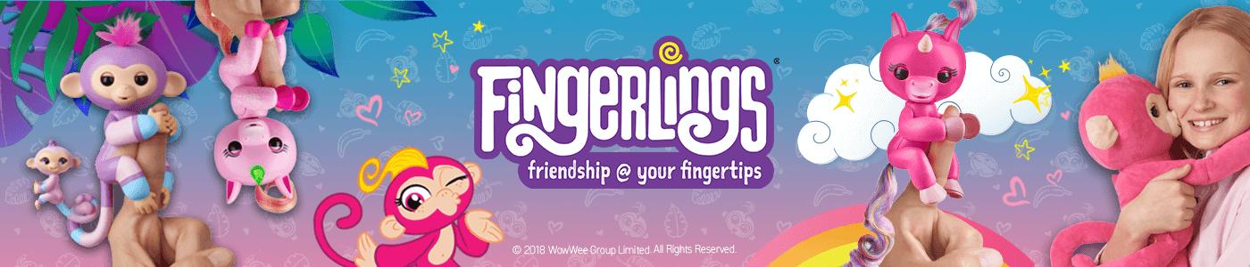פינגרלינגס - בובות אצבע