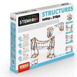 משחק הרכבה אנג'ינו הסדרה המכנית – מבנים וגשרים