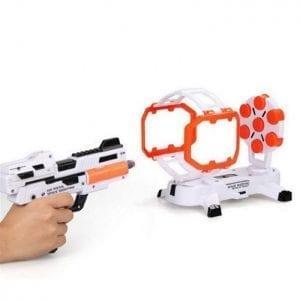 אקדחי חלל – מטרה מסתובבת