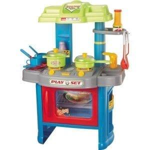 מטבח PLAY SET לילדים + אביזרים