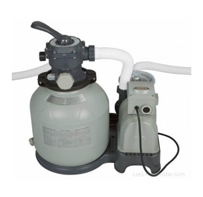משאבת חול 7,900 ליטר לשעה (2100 גלון) דגם 28646 INTEX