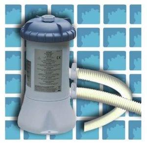 משאבת סינון פילטר 2,006 ליטר (500 גלון) לשעה דגם 28604 INTEX