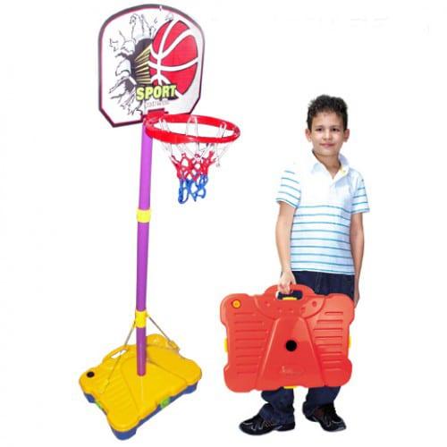 סל כדורסל במזוודה