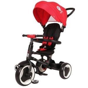 תלת אופן מתקפל לתינוקות QPLAY RITO אדום