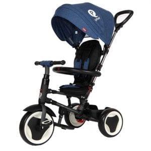 תלת אופן מתקפל לתינוקות QPLAY RITO כחול