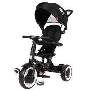 תלת אופן מתקפל לתינוקות QPLAY RITO שחור