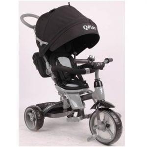 תלת אופן לתינוקות QPLAY DIFF שחור
