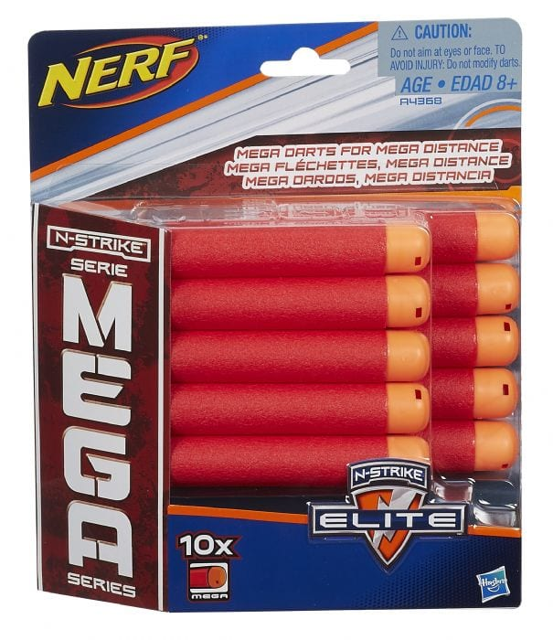10X NERF MEGA BULLETS – עשרה קליעי נרף מגה