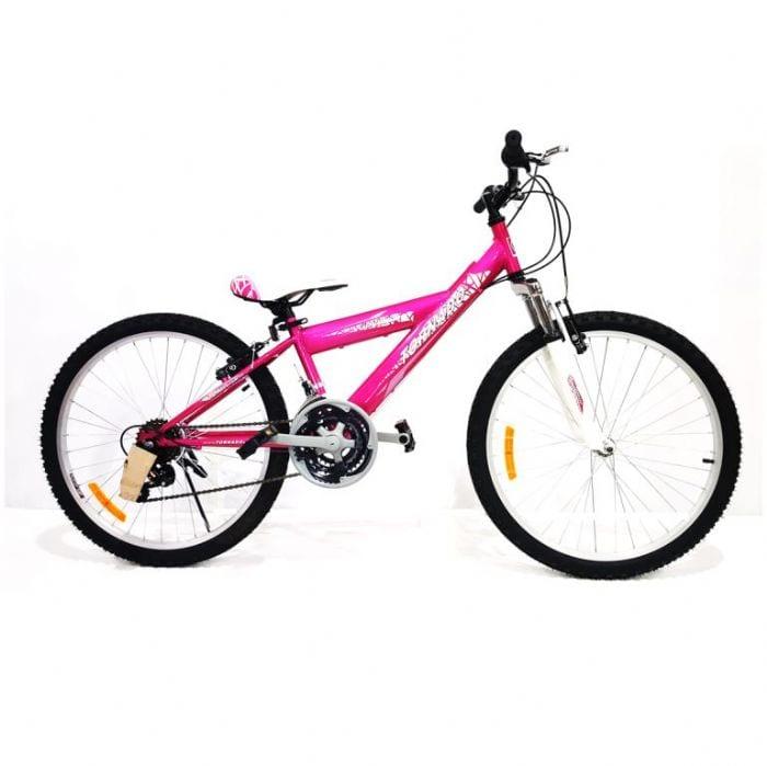 אופני הרים לילדים ונוער – טורנדו M1 ורוד