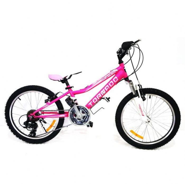אופני הרים לילדים ונוער – טורנדו M2 ורוד