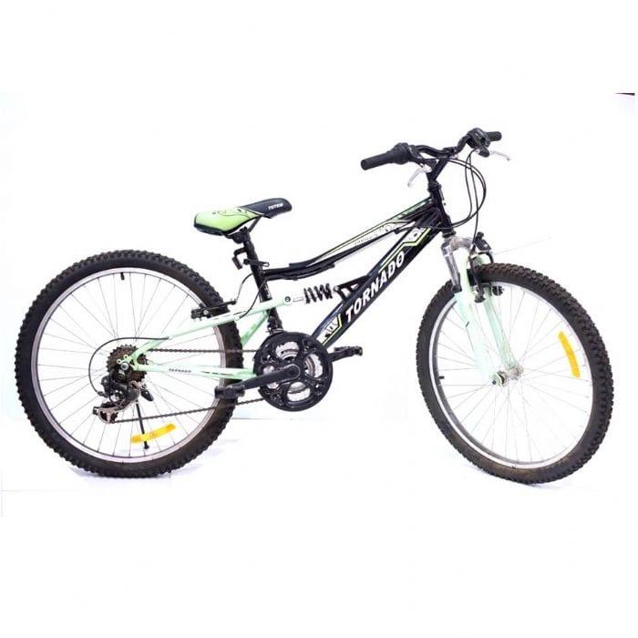 סנסציוני אופני הרים לילדים ונוער – טורנדו שיכוך מלא שחור M4 | | חנות AP-53