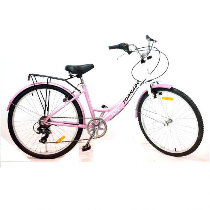 אופני נשים W2 ורוד אלומיניום