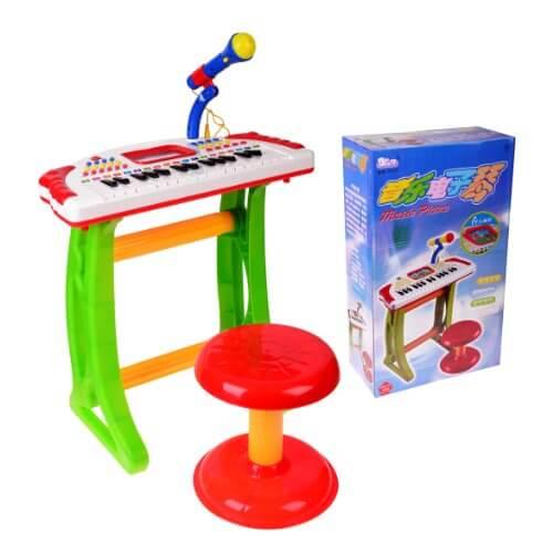 רק החוצה אורגן + כסא לילדים     חנות צעצועים לילדים GQ-37