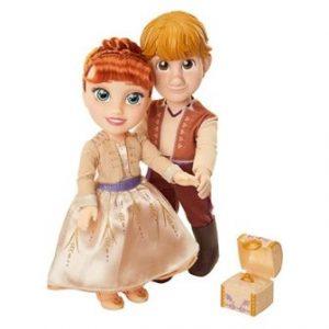 בובות אנה וכריסטוף בהצעת הנישואין – פרוזן 2