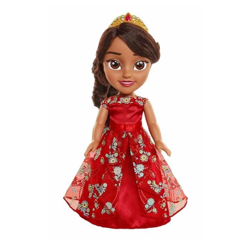 בובת אלנה עם שמלת נשף