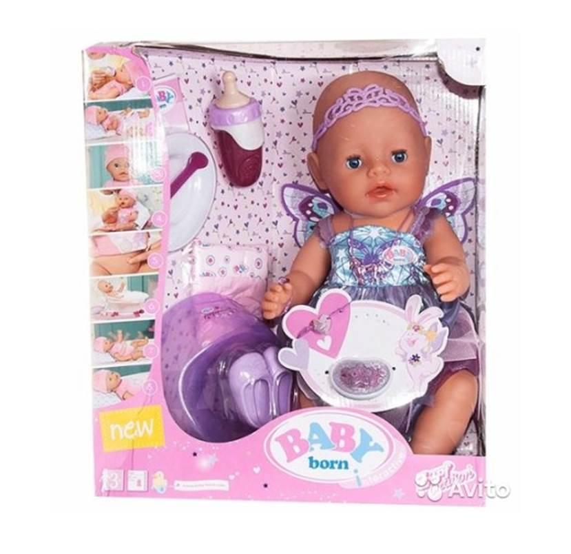 בייבי בורן פיה – בובת תינוק עושה פיפי ובוכה