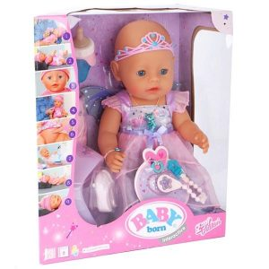 בייבי בורן פיה נגיעה רכה – בובת תינוק עושה פיפי ובוכה