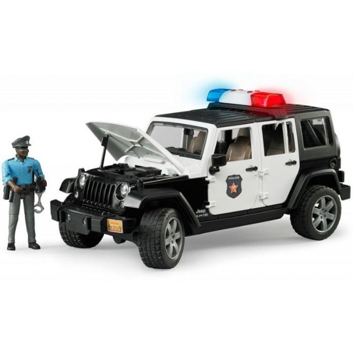 ג'יפ משטרה רוביקון - BRUDER