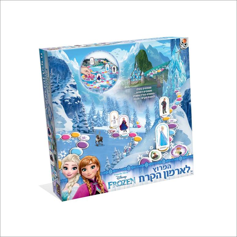המירוץ לארמון הקרח אנה ואלזה