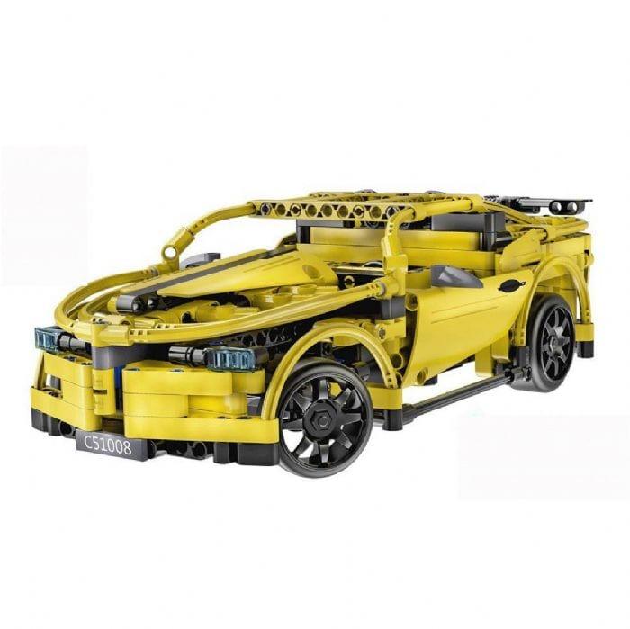 מכונית ספורט להרכבה + שלט – CADA