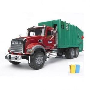 משאית זבל MACK 02812 – BRUDER