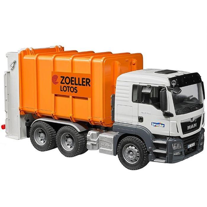 משאית זבל MAN – BRUDER