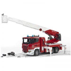 """משאית כיבוי אש """"סקניה"""" ענקית 3590 – BRUDER"""