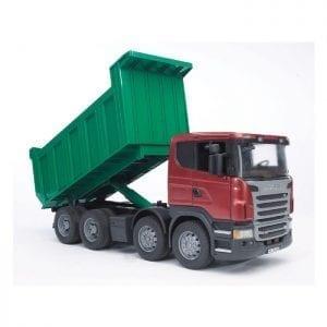 """משאית """"סקניה"""" Tipper truck – BRUDER"""
