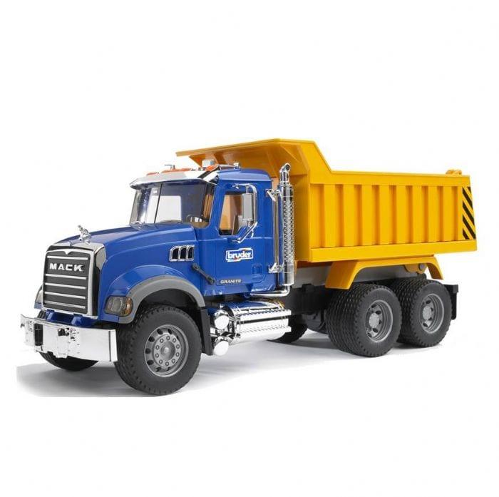 משאית פסולת MACK – BRUDER