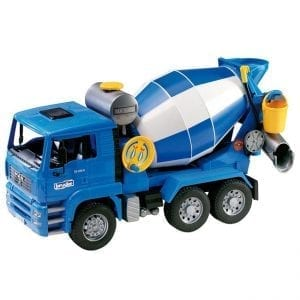 משאית MAN מערבל בטון – BRUDER