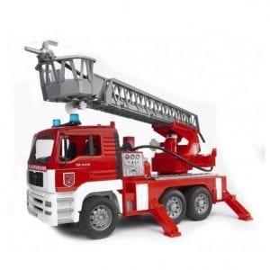 משאית MAN TGA מכבה אש + סירנה 2771 – BRUDER