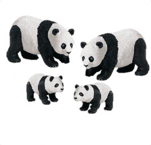 משפחת דובי פנדה
