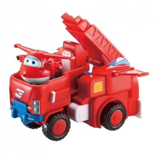 המשאית של ג'ט - הופכת לרובוט - מטוסי על