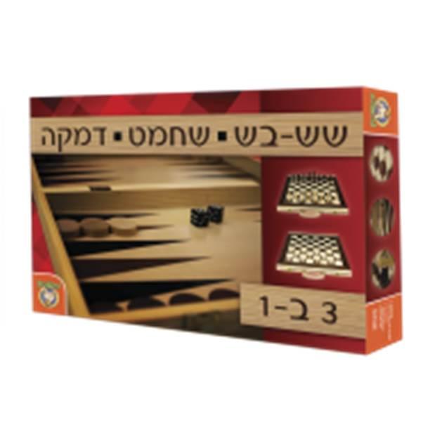 שש בש – שחמט – דמקה
