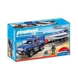 5187 ג'יפ משטרה וסירת מירוץ – פליימוביל