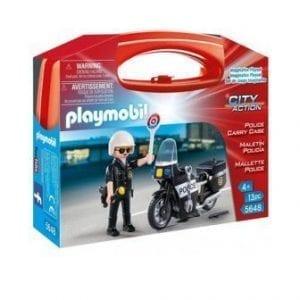 5648 מזוודת שוטר עם אופנוע – פליימוביל