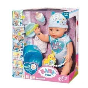 בייבי בורן בן נגיעה רכה – בובת תינוק עושה פיפי ובוכה