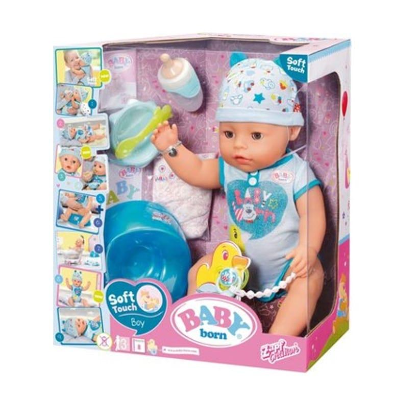 בייבי בורן בן – בובת תינוק עושה פיפי ובוכה
