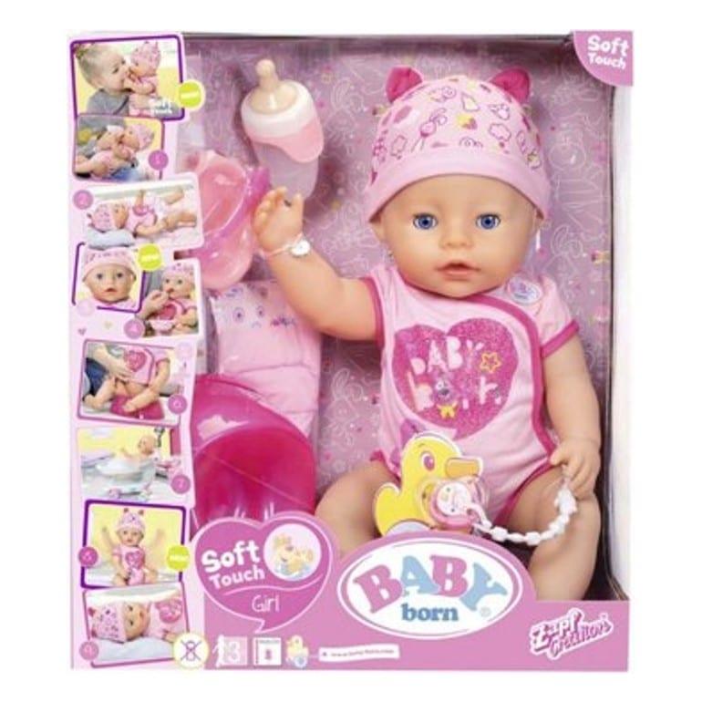 בייבי בורן בת – בובת תינוק עושה פיפי ובוכה
