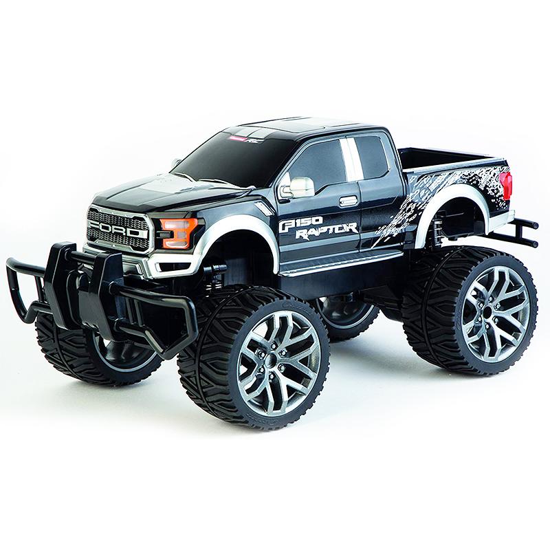 """מכונית על שלט קררה 50 קמ""""ש – Ford F-150 Raptor"""