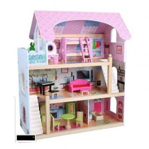 בית בובות מיני מעץ לילדים