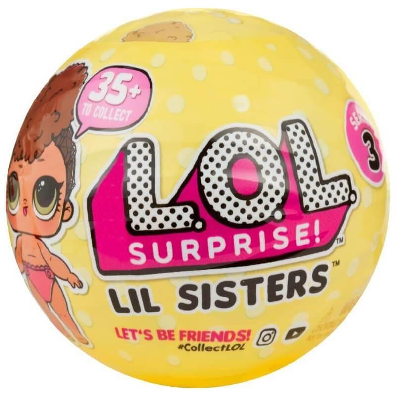 L.O.L כדור הפתעות – אחותי הקטנה