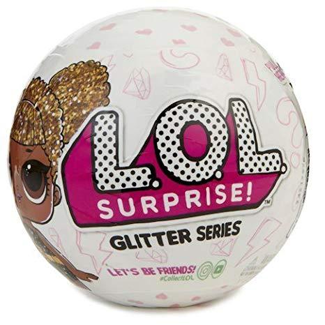 L.O.L כדור הפתעות – בובה מנצנצת