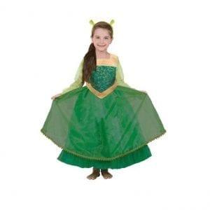 תחפושת הנסיכה פיונה לילדות (שרק) – פורים שושי זוהר