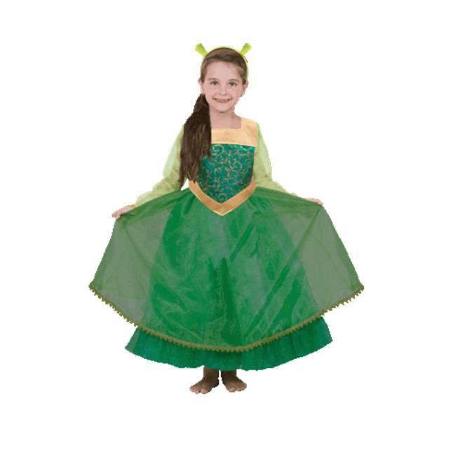 תחפושת הנסיכה פיונה לבנות (שרק) – פורים שושי זוהר