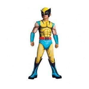 תחפושת וולברין שרירי ילדים – אקסמן – פורים רוביס