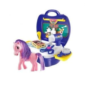 מזוודת חנות חיות מחמד – סוסת פוני
