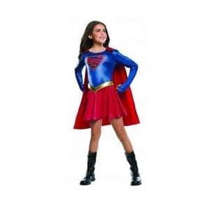 תחפושת סופרגירל מפוארת לילדות – פורים רוביס