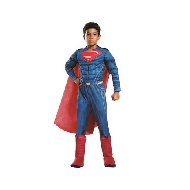 תחפושת סופרמן שרירי ליגת הצדק לבנים – פורים רוביס