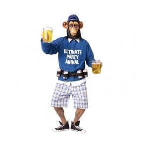 תחפושת קוף המסיבות למבוגרים